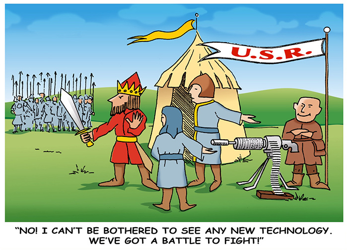 New Technology Cartoon